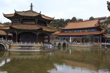 Yuan tong temple in Kunming China