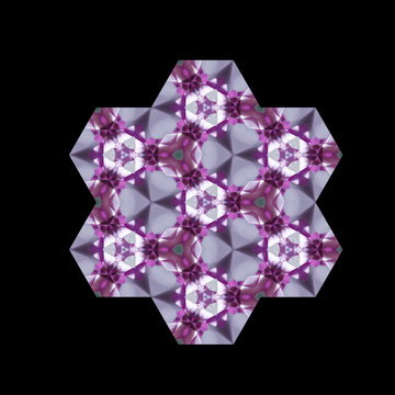 Crystal Kaleidoscope Mandala