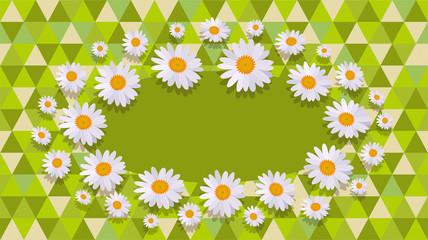 daisy green Celebration card