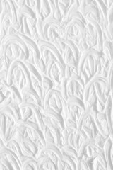 The background is white with a paint texture, painted with brushes, hand made. Template for a holiday card for a wedding.