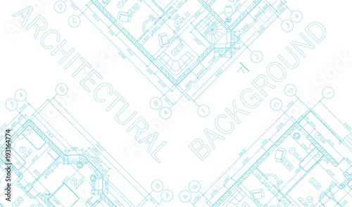 Modern architectural background suburban house vector blueprint modern architectural background suburban house vector blueprint malvernweather Choice Image