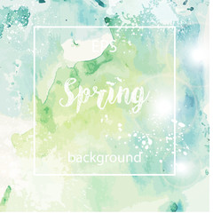 Spring abstract texture background