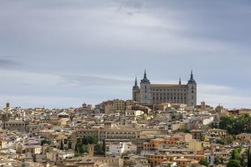 ciudad monumental de Toledo, España