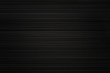 Black horizontal background  based on wooden sticks.
