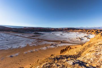 Atacama Desert, Chile - Landscape of the Salt Mountains in the Atacama Desert, Chile