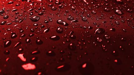 Metal rain drops