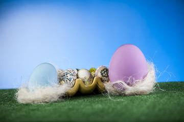 Obraz Malowanie Jajek - fototapety do salonu