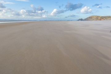 Empty beautiful sandy beach