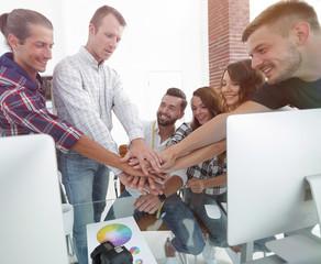 team of designers shows their success