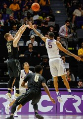 NCAA Basketball: Vanderbilt at Louisiana State
