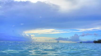 Caribbean vacation at a beautiful resort