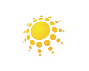 Solar Energy Logo Vector