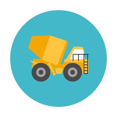 Concrete Mixer Truck | Icon Design Construction