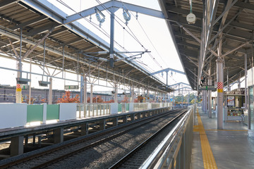 Metro station in Japan Tokyo Prefecture By rail transport The most popular and modern. With access to all areas, Japan is the country where the best mass transit.