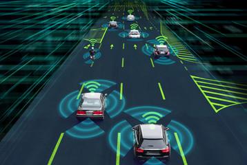 自動車のセンシングシステム