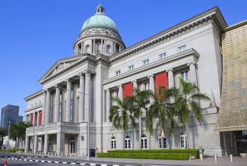 Сингапур. Старое здание Верховного суда, Национальная галерея.