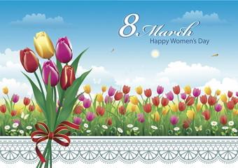 March 8. Happy international women's day