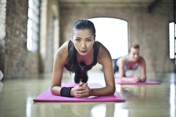 Fit women training