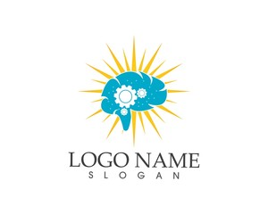 Starlight brain icon logo