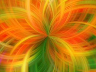 Abstract beautiful digital background. Movement of lines.