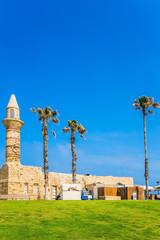 The minaret in Caesarea