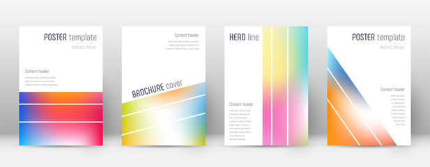 Flyer layout. Geometric exotic template for Brochure, Annual Report, Magazine, Poster, Corporate Presentation, Portfolio, Flyer. Alive bright cover page.