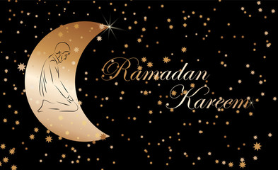The Muslim feast of the holy month of Ramadan Kareem