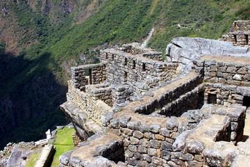 Inka Ruine Machu Picchu