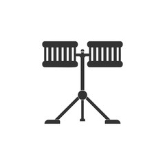 drums icon. Detailed icon of musical instrument icon. Premium quality graphic design. One of the collection icon for websites, web design, mobile app