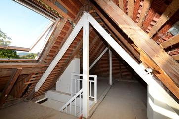 Dachstuhl, Dachausbau