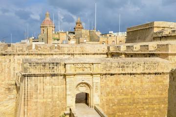 The historic town of Birgu (Vittoriosa), Malta