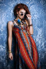 bright ethnic style