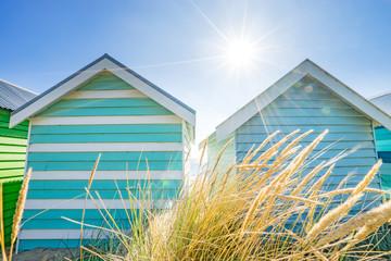 Brighton Beach Huts in Melbourne, Australia