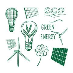 Ecological energy sketch