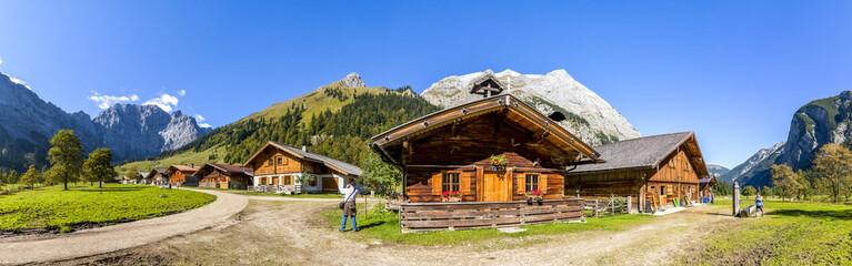 Alm, Eng, Tirol, Österreich