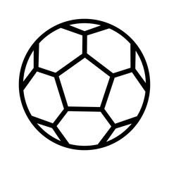Fototapeta piłka nożna ikona