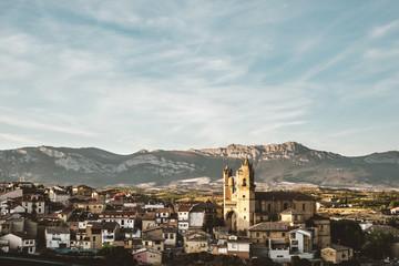 Marques de Riscal village, Pamplona, Navarre, Spain
