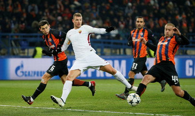 Champions League Round of 16 First Leg - Shakhtar Donetsk vs AS Roma