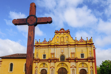 Cathedral of San Cristobal de las Casas, Chiapas, Mexico