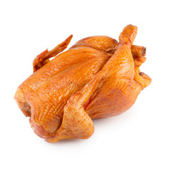 Smoked poultry isolated