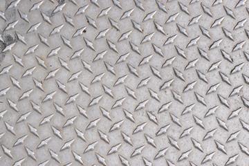 Grungy diamond plate texture background