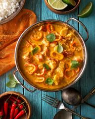 Thai Lobster Coconut Red Curry