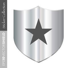 Shield Icon - Star