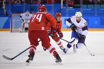 Olympics: Ice Hockey-Men Team Quarterfinal - OAR-NOR