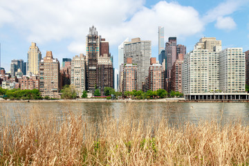 Midtown Manhattan seen from Roocevelt Island (NYC)