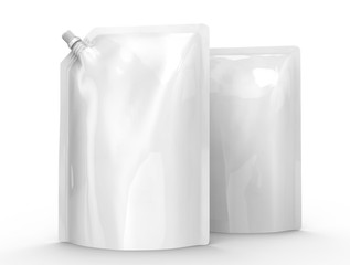 Detergent refill package