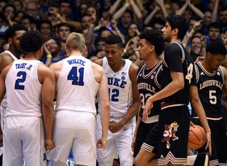NCAA Basketball: Louisville at Duke
