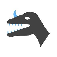 Dinosaur Face icon