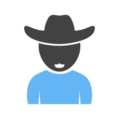 Boy in Cowboy Hat