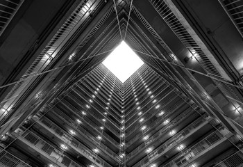 Fotomurales - Hong Kong Old Style Public Housing